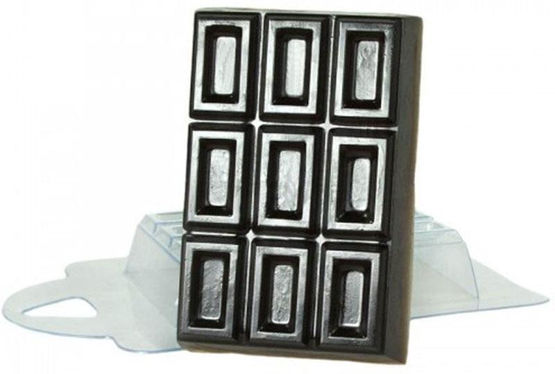 Форма для мыла Выдумщики Шоколад, пластиковая форма для мыла выдумщики букет тюльпанов пластиковая цвет прозрачный