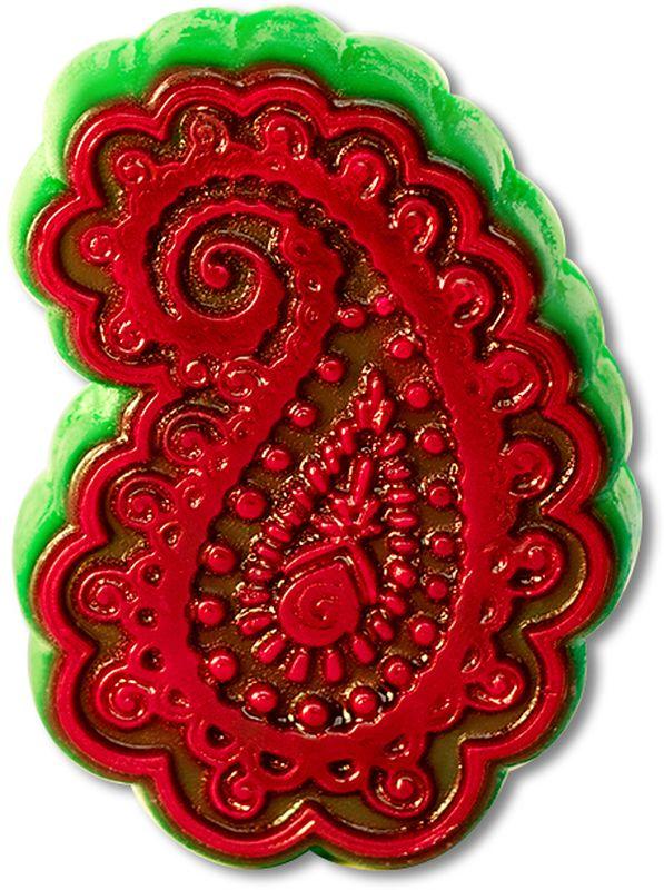 Форма для мыла Выдумщики Пейсли, пластиковая, цвет: прозрачный форма для мыла выдумщики букет тюльпанов пластиковая цвет прозрачный