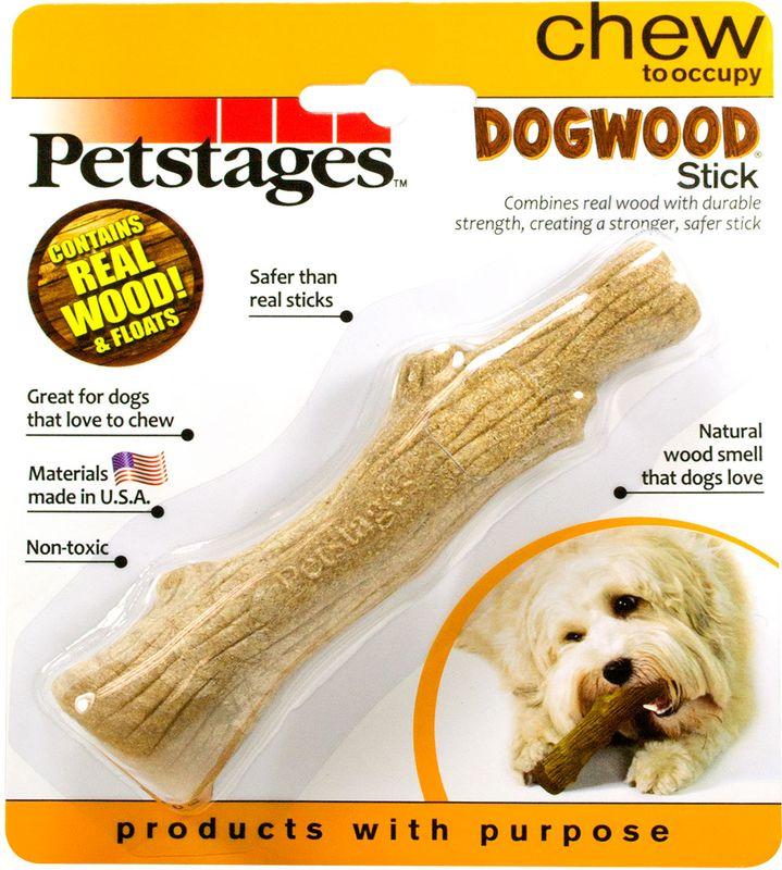 """Игрушка для собак Petstages """"Dogwood. Палочка"""", деревянная, длина 16 см"""