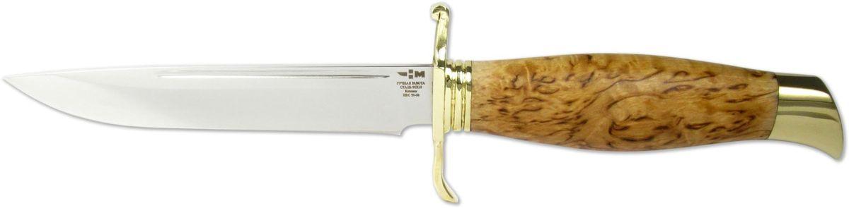 Нож нескладной Ножемир НКВД, цвет: бежевый, длина клинка 13,4 см нож охотничий ножемир длина клинка 12 2 см
