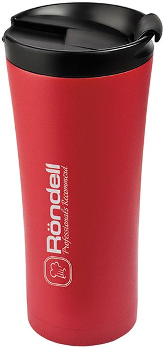 Термокружка Rondell Ultra Red, 500 млRDS-230Термокружка Rondell выполнена из нержавеющей стали. Удобная система открывания. Максимальная защита от проливания. Термокружка будет полезна в домашнем быту и незаменима для дальних поездок. Рекомендуем!