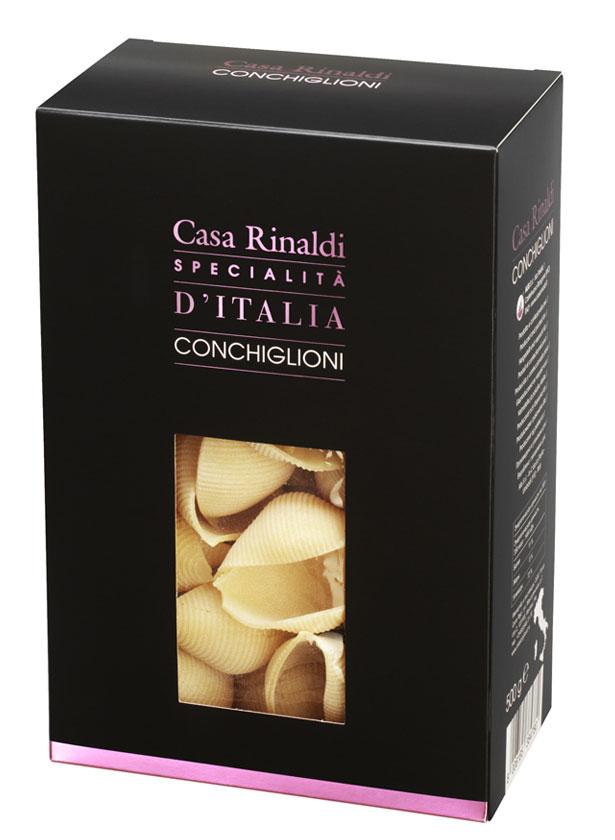 Casa Rinaldi Паста Конкильони из Умбрии ракушки, 500 г