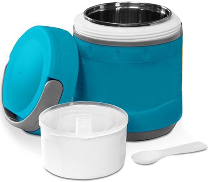 Термос-контейнер Diolex, цвет: синий, 1,2 лDXС-1200-2-BТермос пищевой вакуумный с колбой из нержавеющей стали в пластиковом корпусе предназначен для хранения горячих первых и вторых блюд. Сохраняет напитки и продукты горячими на 12 часов или холодными на 24 часа. Термос имеет удобную ручку для переноски.В комплект входят чашка и ложка из пластика. Рекомендуем!