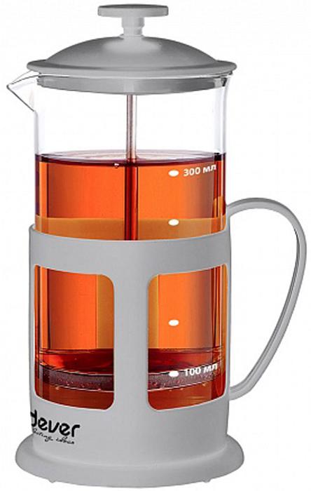 """Френч-пресс Endever FP-353, Нержавеющая сталь, Пластик, СтеклоFP-353Френч-пресс Endever """"EcoLife"""" изготовлен из высококачественной нержавеющей стали, жаропрочного стекла и пластика. Жаропрочное стекло может выдерживать температуру до 180°С. Засыпая чайную заварку или кофе под фильтр, заливая горячей водой, вы получаете ароматный напиток с оптимальной крепостью и насыщенностью. Остановить процесс заваривания легко, для этого нужно просто опустить поршень, и все уйдет вниз, оставляя вверху напиток, готовый к употреблению. Френч-пресс Endever """"EcoLife"""" позволит быстро и просто приготовить свежий и ароматный кофе или чай."""