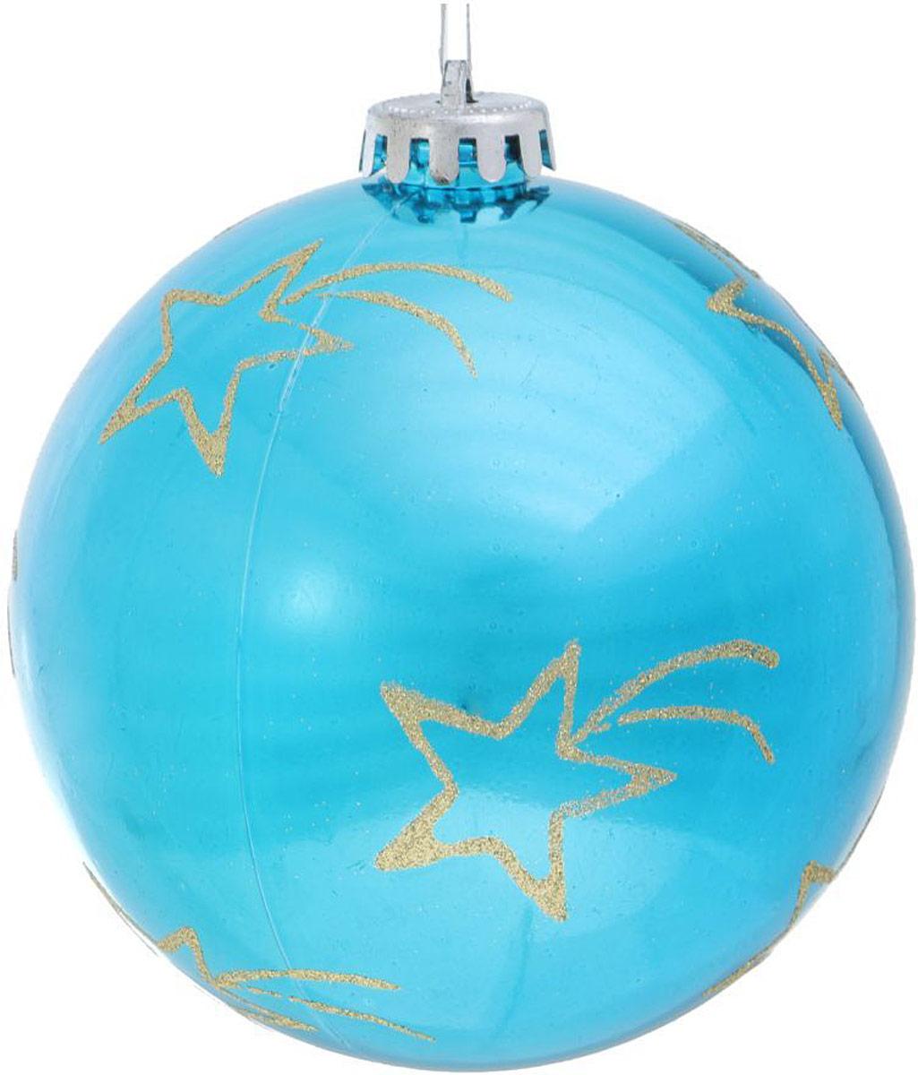 Украшение новогоднее подвесное Sima-land Комета, диаметр 12 см новогоднее подвесное украшение sima land зимний узор диаметр 10 см