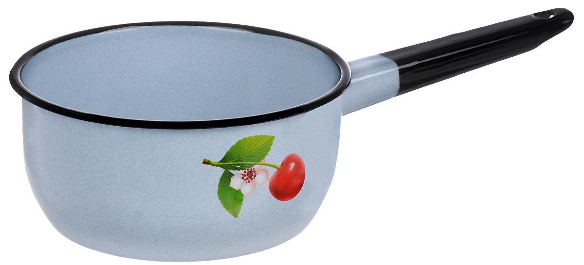 Дуршлаг эмалированный Лысьвенские эмали Фруктовая фантазия. Цветущая вишня, 1,5 л дуршлаг эмалированный лысьвенские эмали 1 5 л