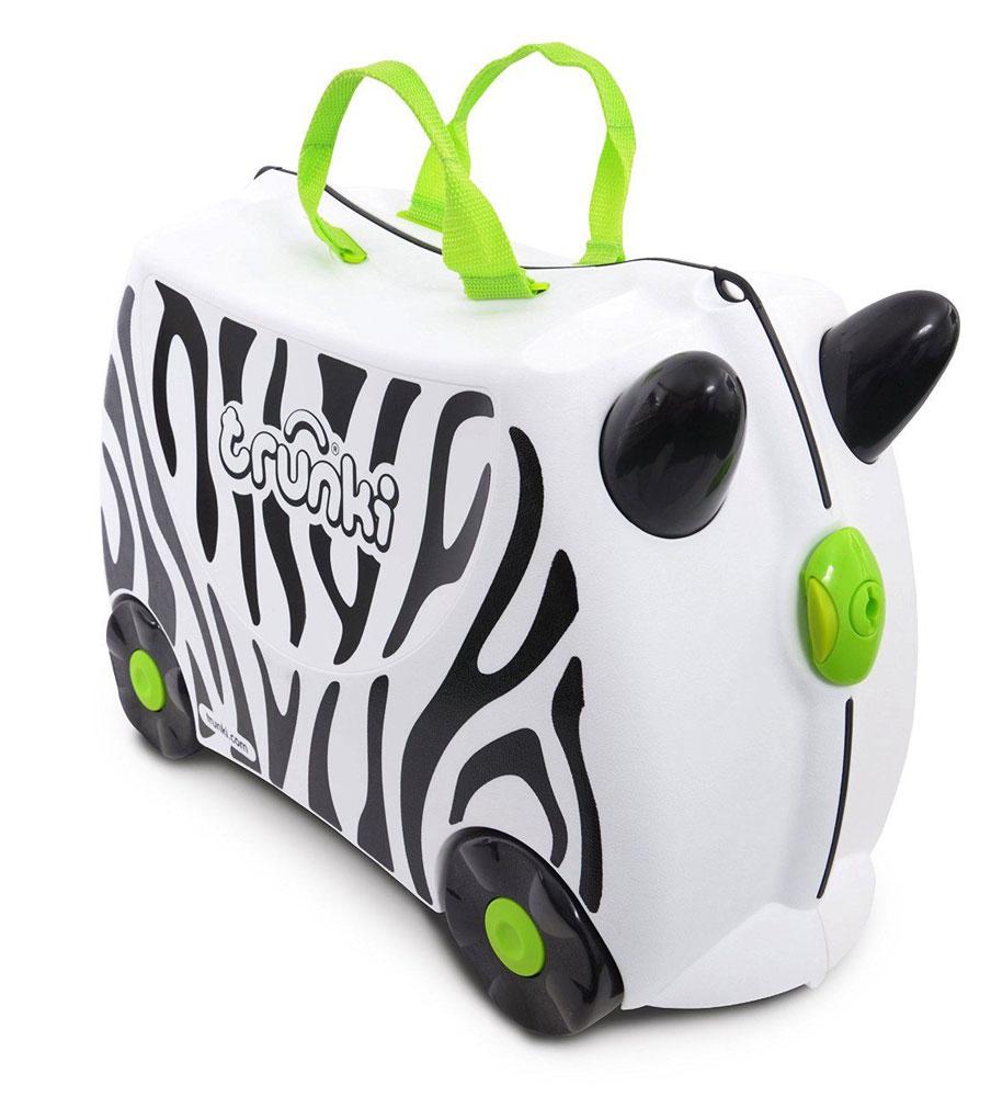 Trunki Чемодан детский Зебра Зимба детские чемоданы trunki детская каталка чемодан taxi tony тони таксист