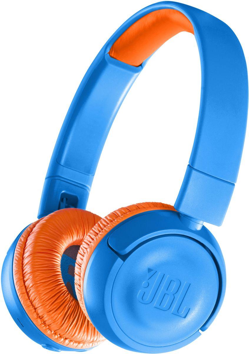 JBL JR300BT, Blue Orange наушники