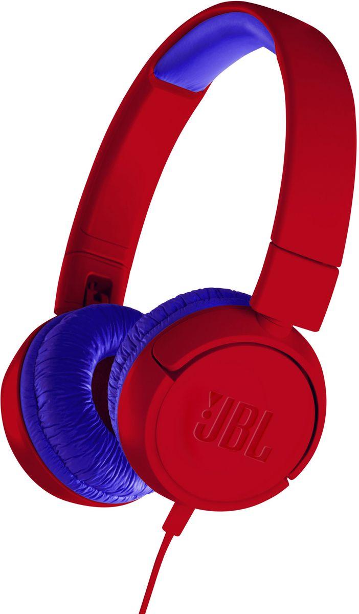 JBL JR300, Red Blue наушники недорого