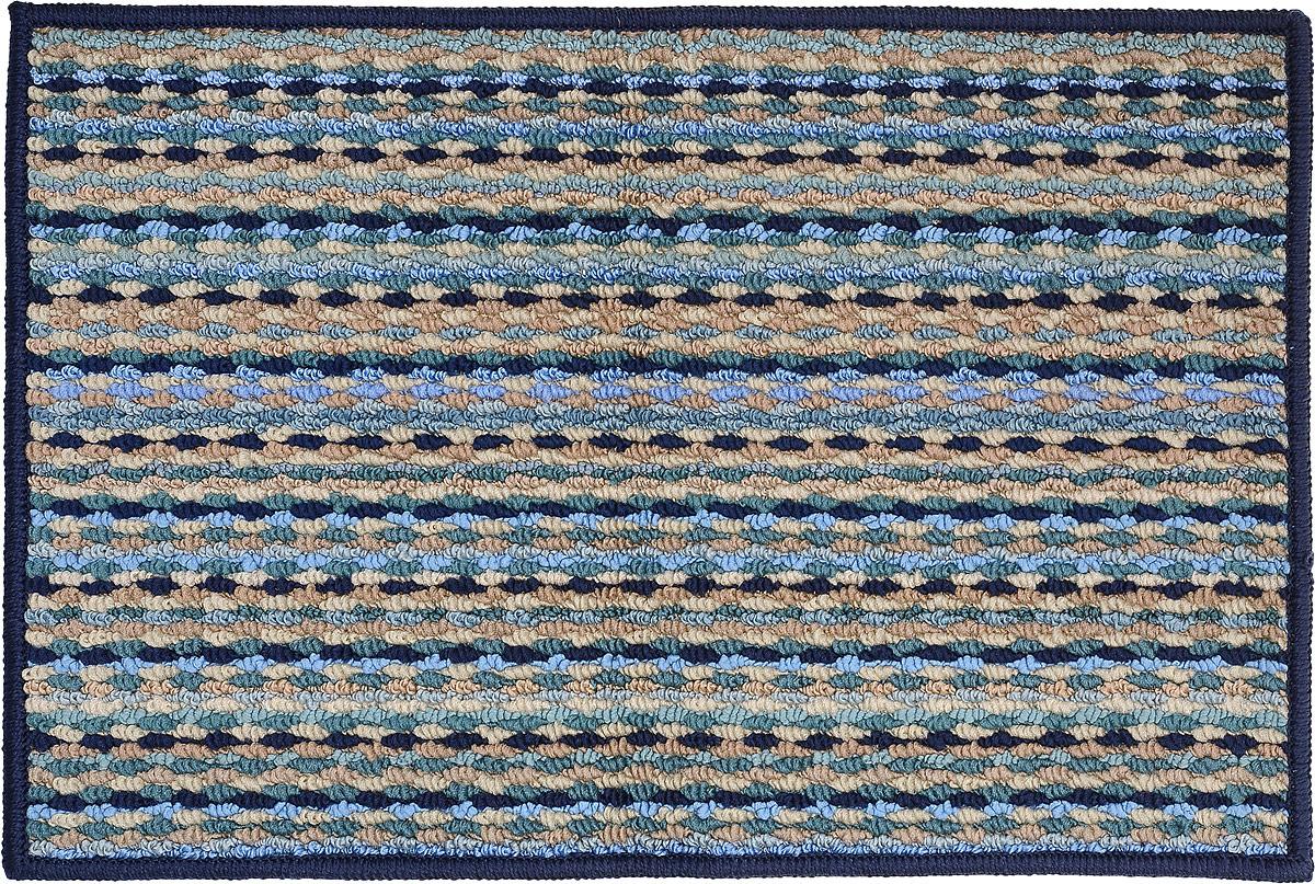 Коврик придверный Vortex Spark, цвет: синий, 40 х 60 см. 22353 коврик придверный vortex spark цвет синий 40 х 60 см 22353