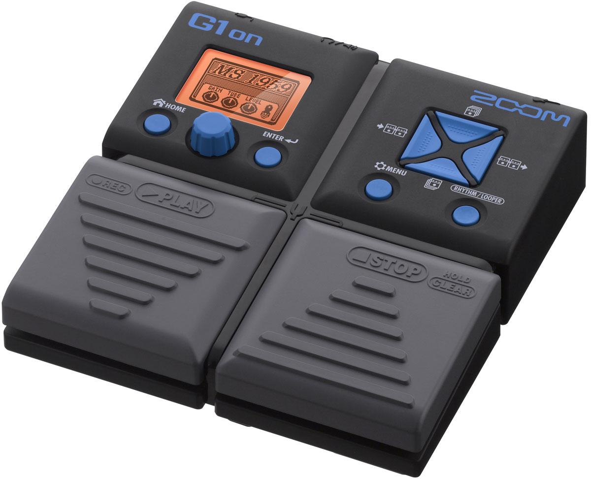цена на Zoom G1on, Black процессор эффектов для электрогитары