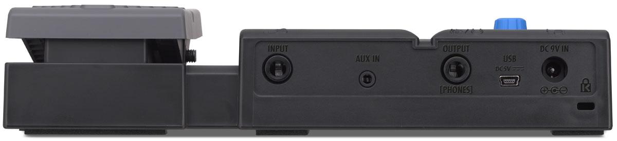 Zoom G1Xon, Blackпроцессор эффектов для электрогитары с педалью Zoom