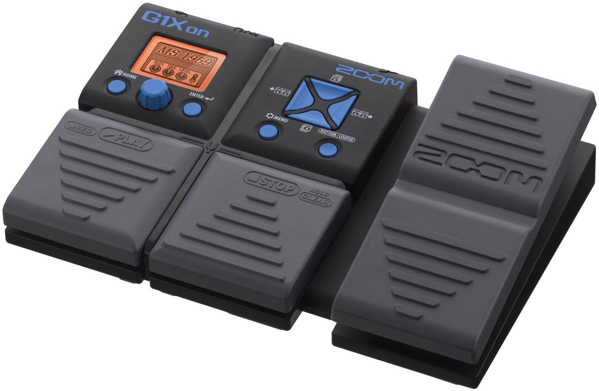 Zoom G1Xon, Black процессор эффектов для электрогитары с педалью zoom g5n black процессор эффектов для электрогитары