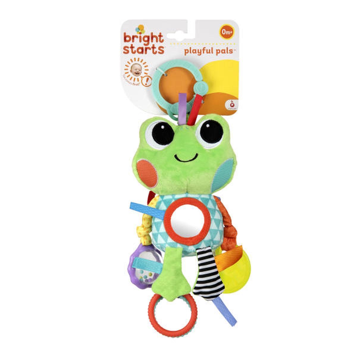 Bright Starts Развивающая игрушка Озорные друзья Лягушонок прорезыватели bright starts коровка лягушонок погремушка