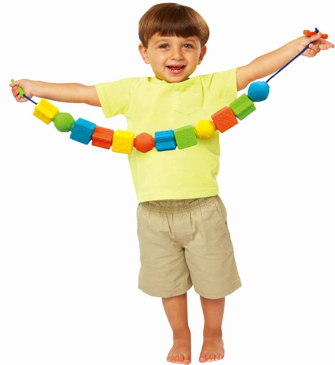 Little Hero Развивающая игрушка Гигантские бусы