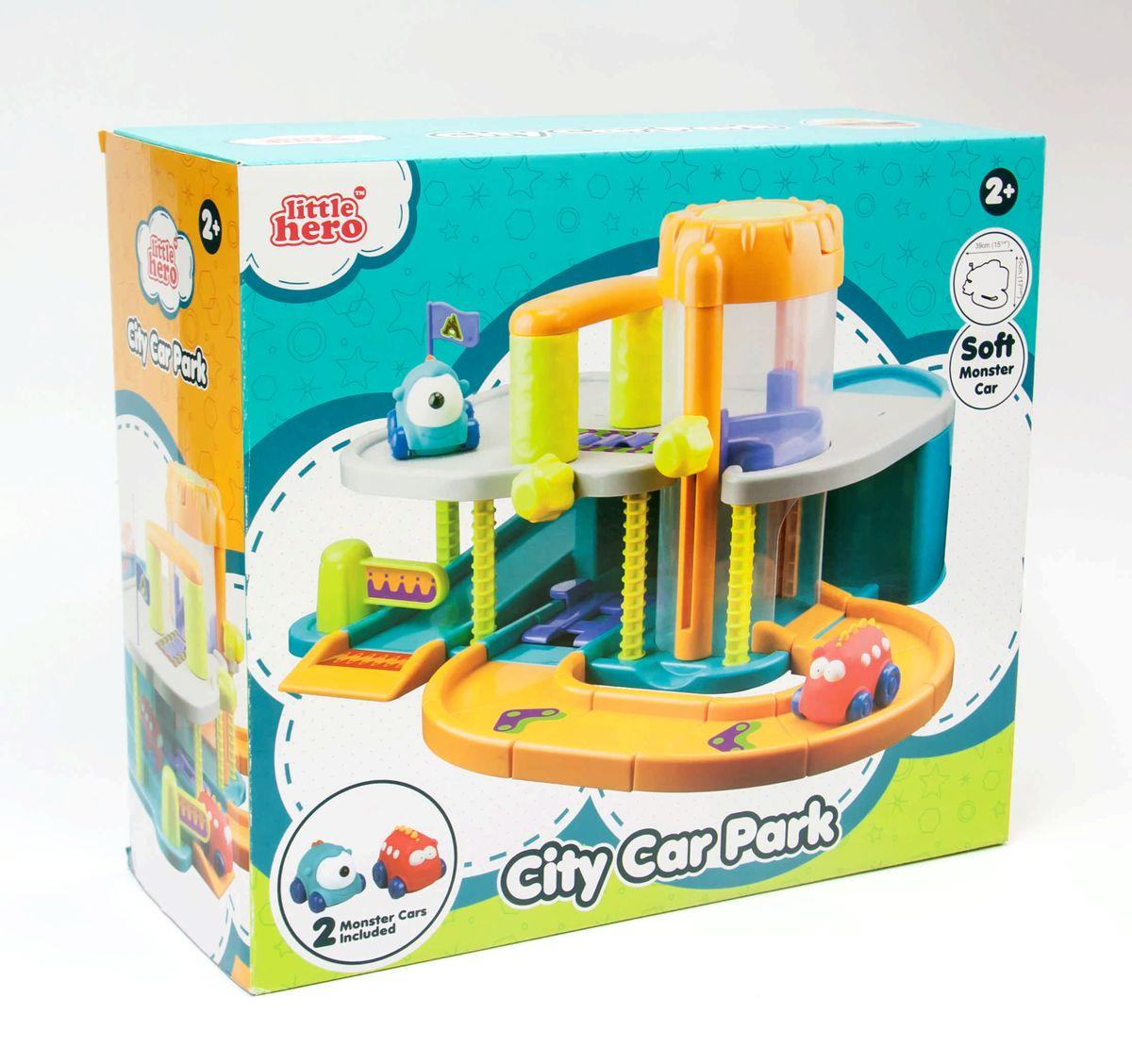 Little Hero Игровой набор Городская парковка
