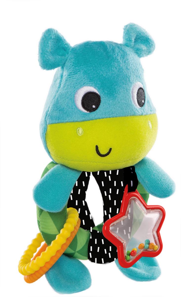 BRIGHT STARTS Развивающая игрушка Лучшие друзья, Бегемотик