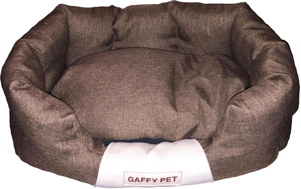 """Лежак для животных Gaffy Pet """"One"""", цвет: шоколадный, 55 х 35 х 23 см"""