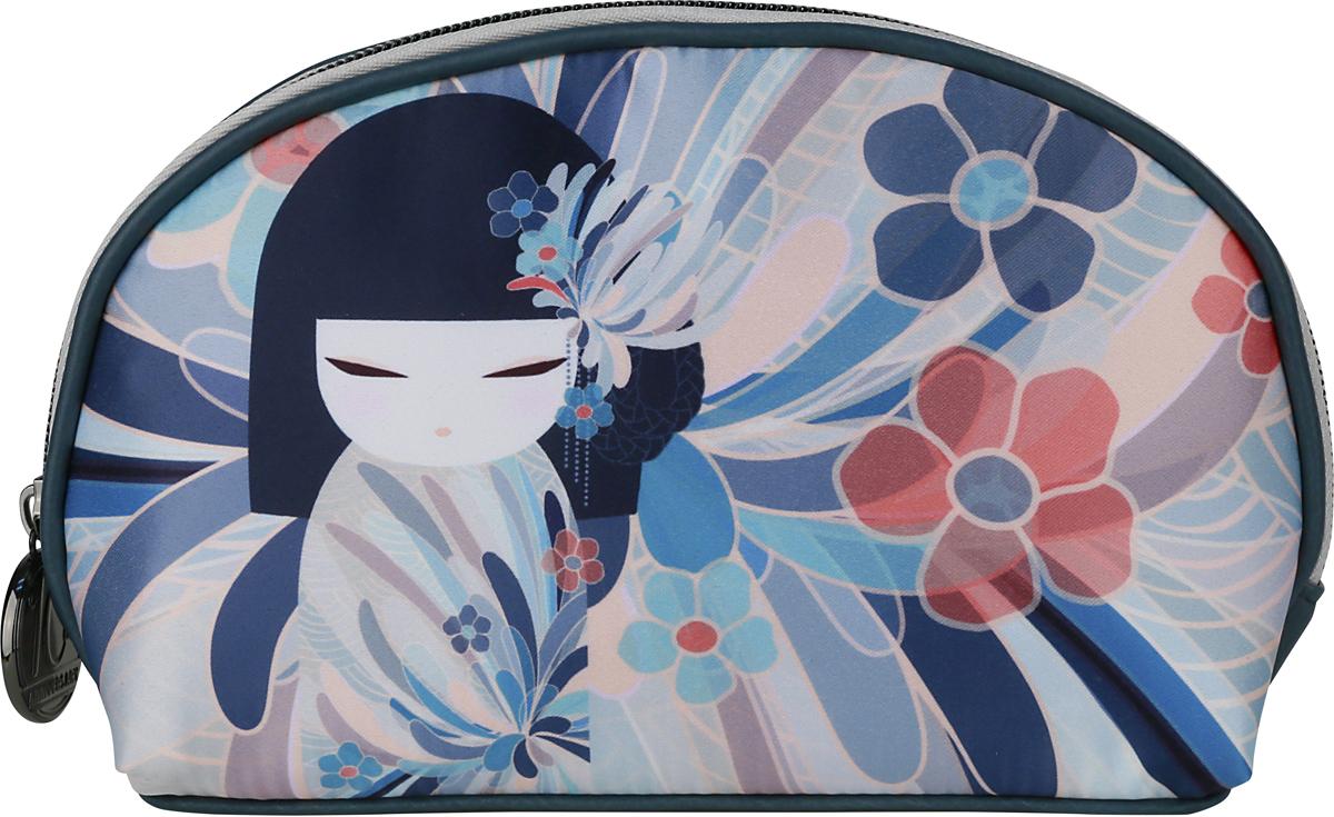 Косметичка женская Kimmidoll Намика, цвет: синий. KF1157 косметичка женская kimmidoll цвет розовый kf1193