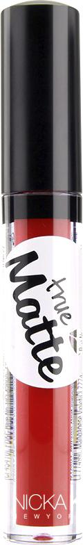 Nicka K NY True Matte Lip Color губная помада, 3,5 г, оттенок MILANO RED nicka k ny color lip shine блеск для губ 10 мл оттенок ll03