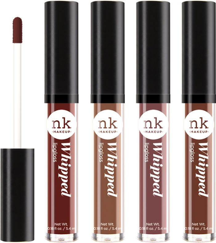 Nicka K NY Whipped Lip Gloss блеск для губ, 5,4 г, оттенок SEAL BROWN nicka k ny color lip shine блеск для губ 10 мл оттенок ll03