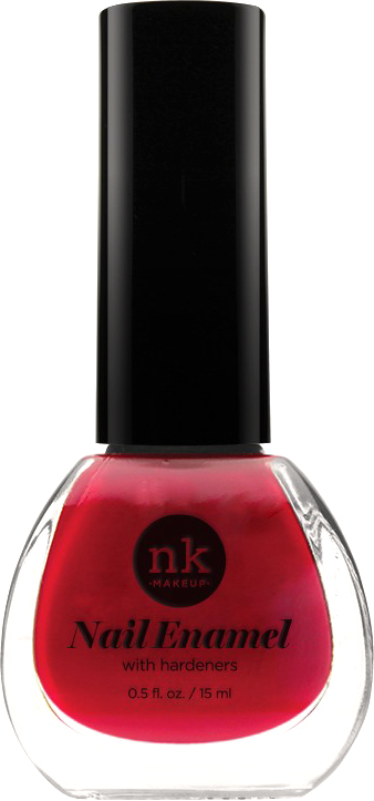 Nicka K NY Nail Enamel лак для ногтей, 13,3 мл, оттенок RED GEM revlon nail enamel лак для ногтей raven red