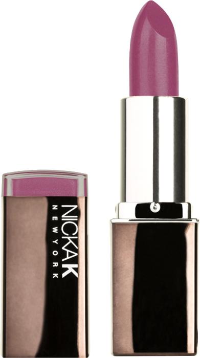 Nicka K NY Creme Lipstick помада губная увлажнение, 3,5 г, оттенок NY021 MERRY nicka k ny ny blush румяна 12 г оттенок nicka k ny ny blush румяна 12 г