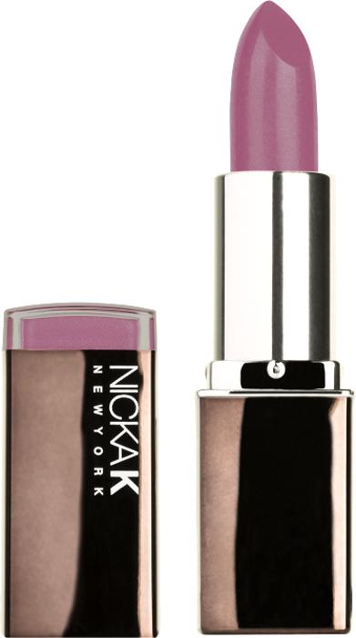 Nicka K NY Creme Lipstick помада губная увлажнение, 3,5 г, оттенок NY024 DESIRE nicka k ny ny blush румяна 12 г оттенок nicka k ny ny blush румяна 12 г
