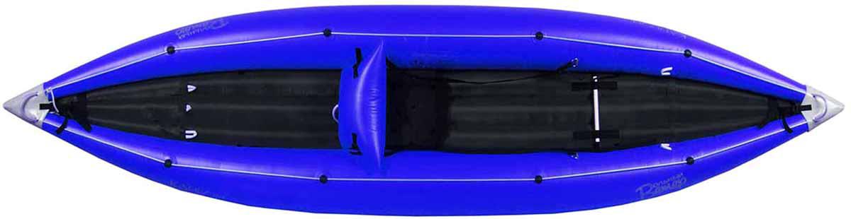 Лодка Вольный ветер Соло, цвет: синий