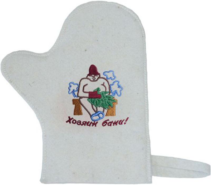 Фото - Рукавица для бани и сауны Ecology Sauna Хозяин бани массажёр для бани рукавица