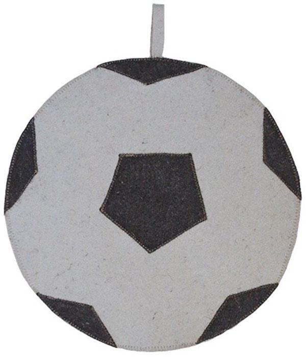 Коврик для бани и сауны Ecology Sauna Мяч, цвет: серый, черный коврик для бани и сауны ecology sauna эконом цвет серый уцененный товар 1