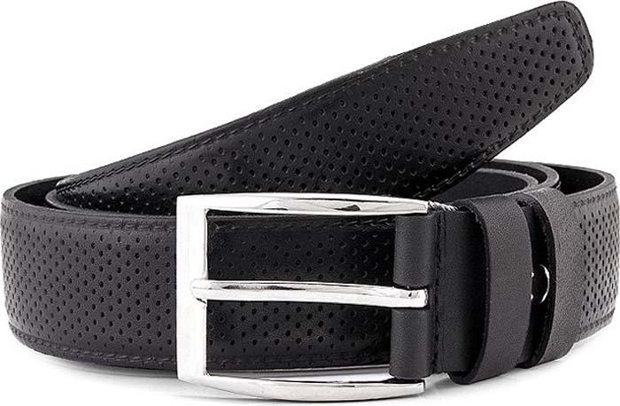 Ремень мужской Greg, цвет: черный. G22. Размер 120 ремень мужской askent цвет черный rm 6 lg размер 125
