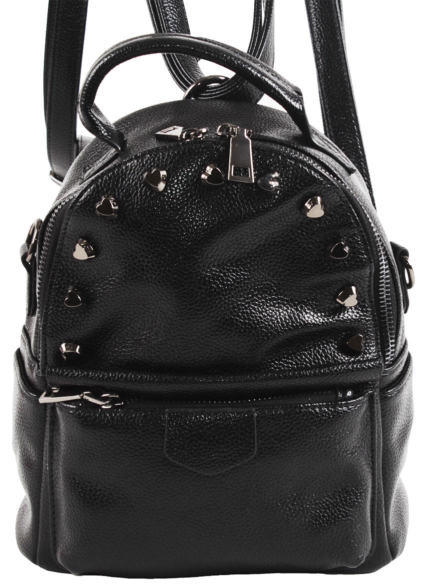 Рюкзак женский Flioraj, цвет: черный. 8005-1605/101 цена и фото