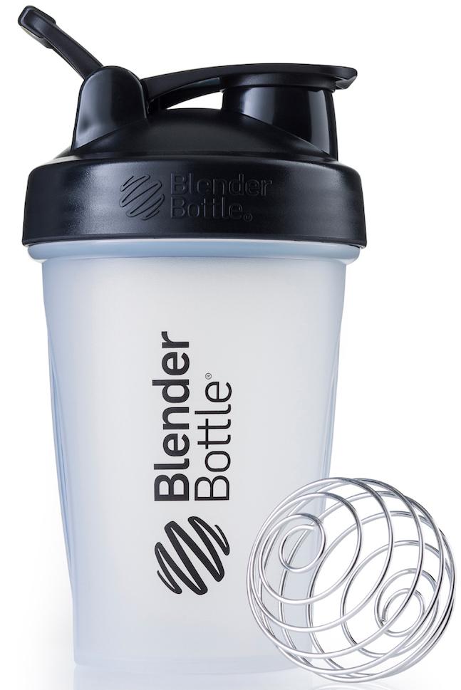 """Шейкер спортивный BlenderBottle """"Classic"""", цвет: черный, прозрачный, 591 мл"""