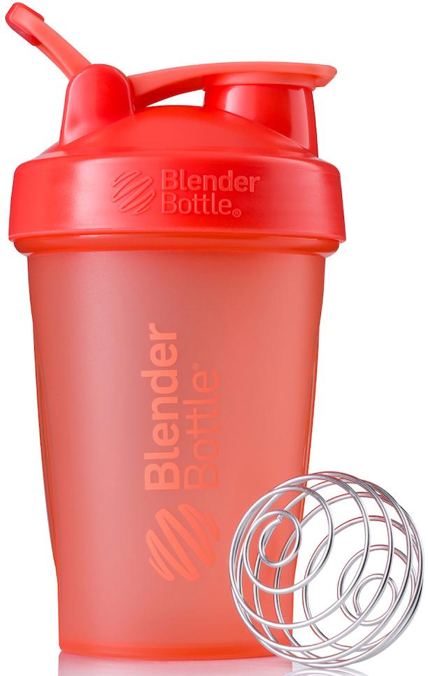 "Шейкер спортивный BlenderBottle ""Classic Full Color"", цвет: коралловый, 591 мл"