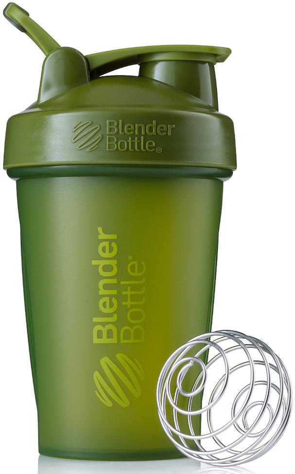 """Шейкер спортивный BlenderBottle """"Classic Full Color"""", цвет: оливковый, 591 мл"""