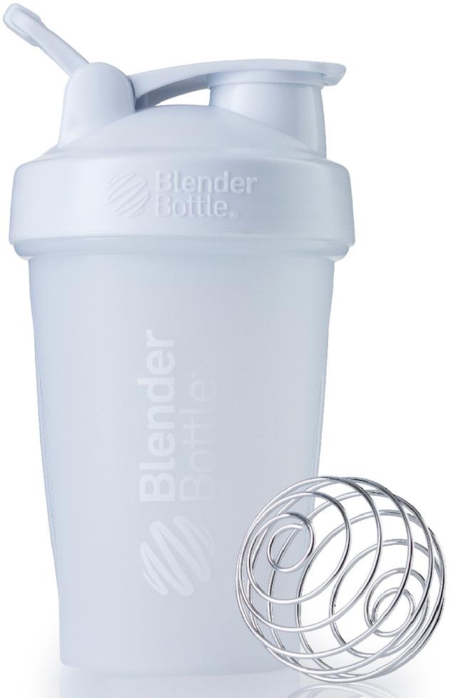 "Шейкер спортивный BlenderBottle ""Classic Full Color"", цвет: белый, 591 мл"
