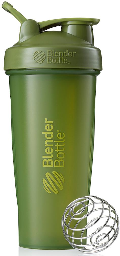 """Шейкер спортивный BlenderBottle """"Classic Full Color"""", цвет: оливковый, 828 мл"""