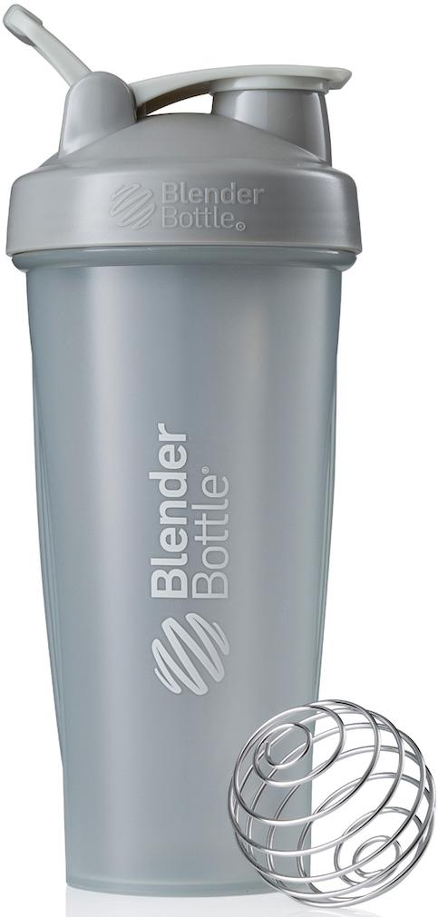 """Шейкер спортивный BlenderBottle """"Classic Full Color"""", цвет: серый, 828 мл"""