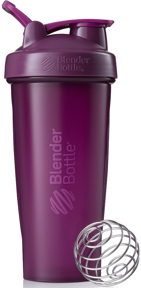 "Шейкер спортивный BlenderBottle ""Classic Full Color"", цвет: фиолетовый, 828 мл"