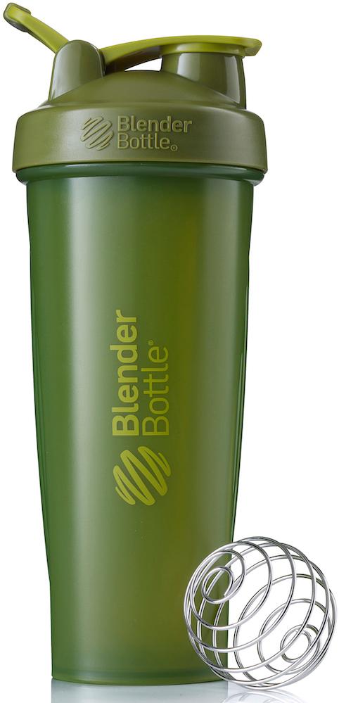"""Шейкер спортивный BlenderBottle """"Classic Full Color"""", цвет: оливковый, 946 мл"""