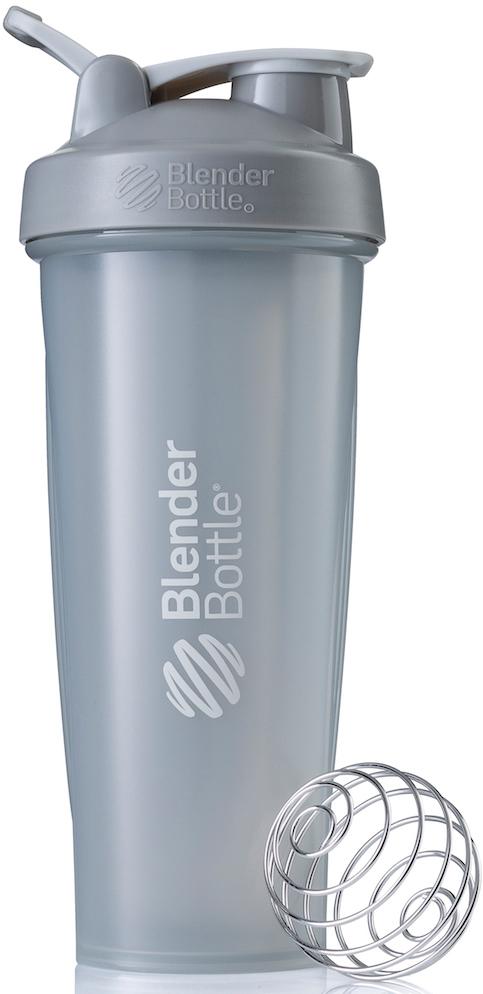 """Шейкер спортивный BlenderBottle """"Classic Full Color"""", цвет: серый, 946 мл"""