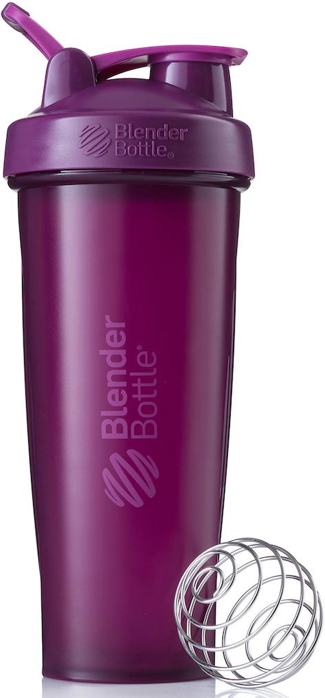 "Шейкер спортивный BlenderBottle ""Classic Full Color"", цвет: фиолетовый, 946 мл"