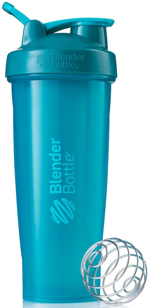 """Шейкер спортивный BlenderBottle """"Classic Full Color"""", цвет: бирюзовый, 946 мл"""