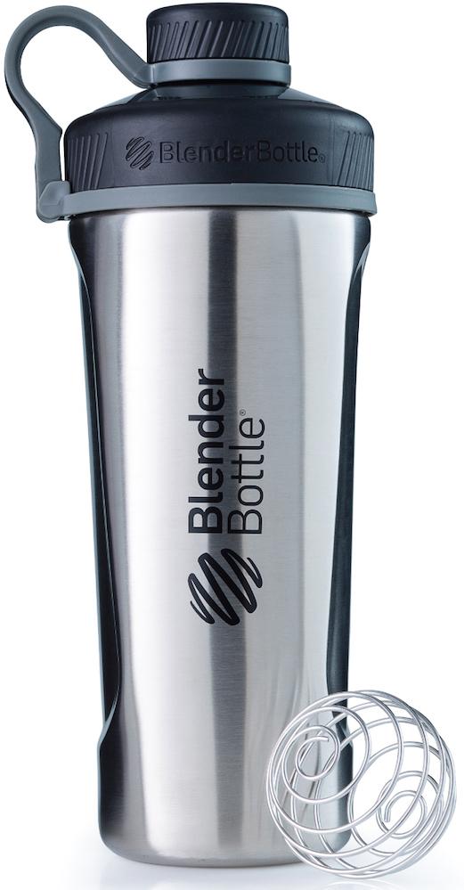 """Шейкер спортивный BlenderBottle """"Radian Insulated Stainless"""", цвет: серый, 769 мл"""