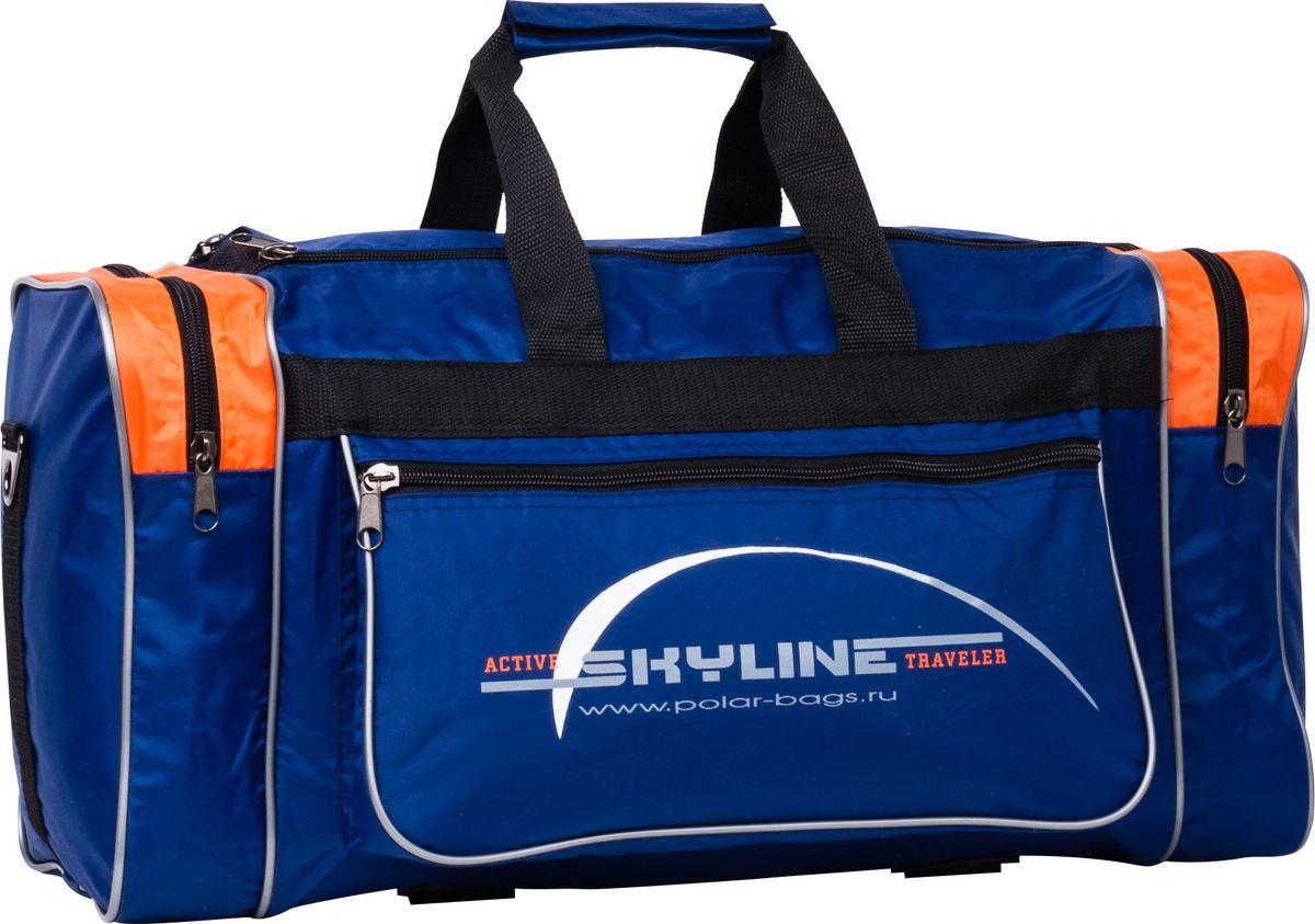 Сумка спортивная Polar, цвет: синий, 30,5 л. 6007 сумка спортивная polar цвет синий оранжевый 30 5 л 6007