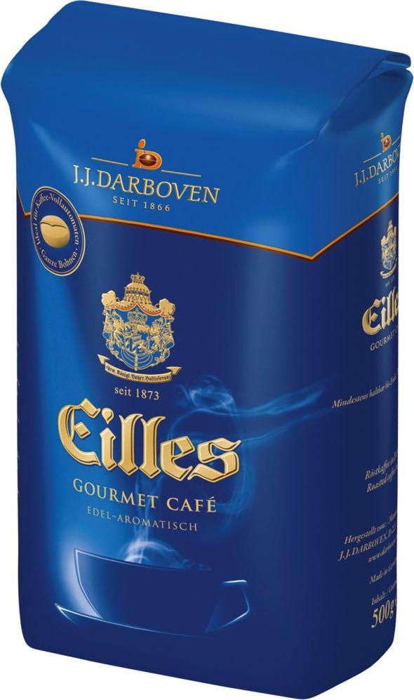 J.J. Darboven Eilles Gourmet Cafe кофе в зернах ,500 г eilles gourmet cafe crema кофе в зернах 1000 г