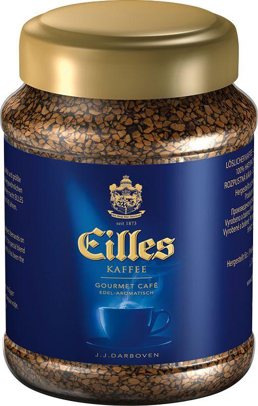 J.J. Darboven Eilles Gourmet Kaffee кофе растворимый сублимированный, 100 г eilles gourmet cafe crema кофе в зернах 1000 г