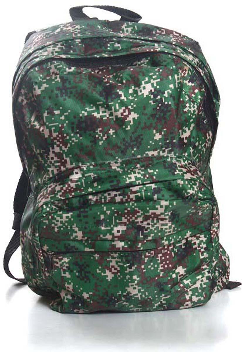 Рюкзак городской Ibag Пиксели, цвет: зеленый, 18 л городской рюкзак fastbreak наследие 23 л зеленый 124300 114