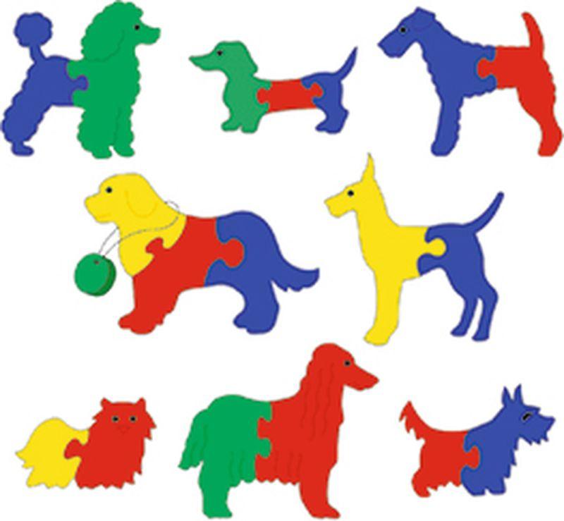 Флексика Мягкая мозаика Выставка собак мягкая игра мозаика птицы 45332
